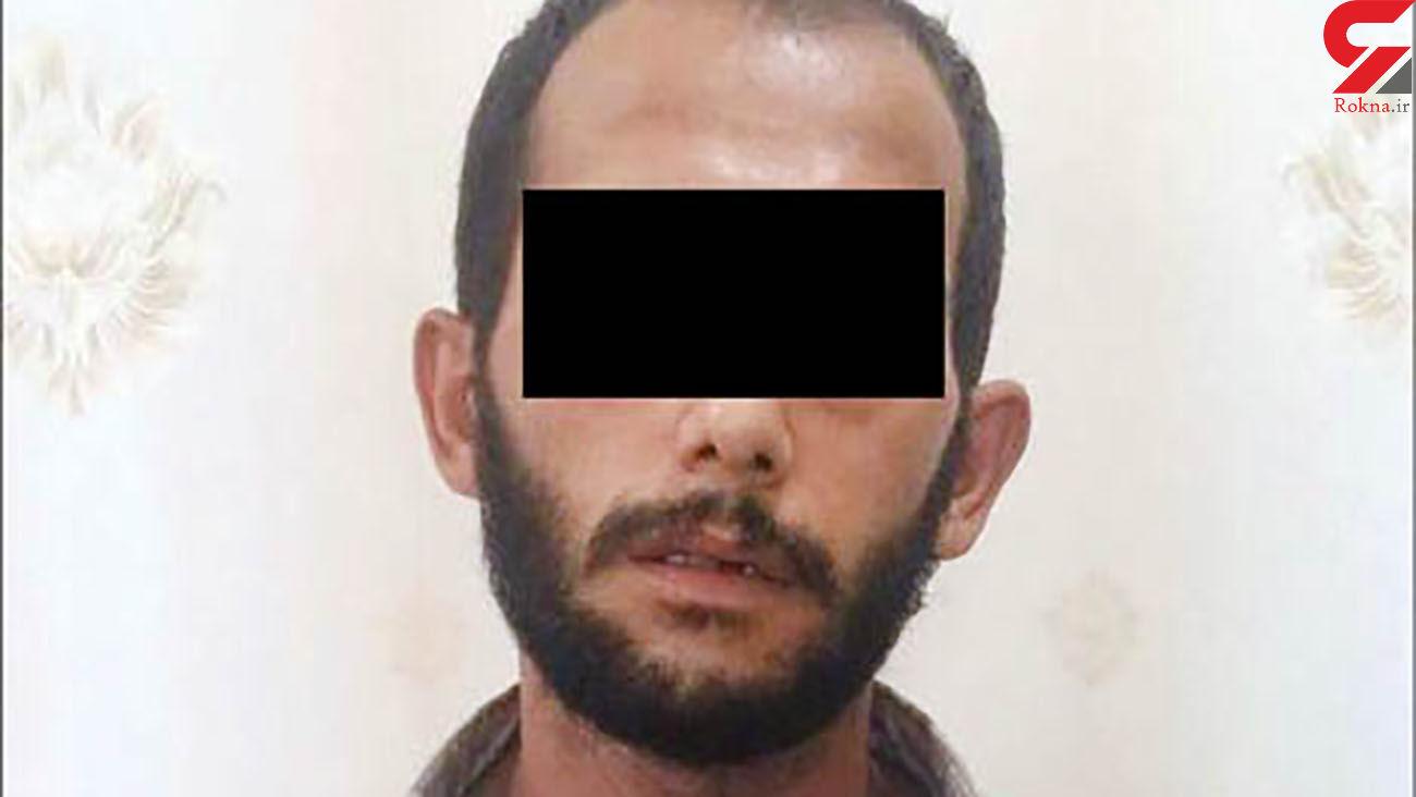 بازداشت مرد بی رحم در پوشش زنانه در مشهد + عکس