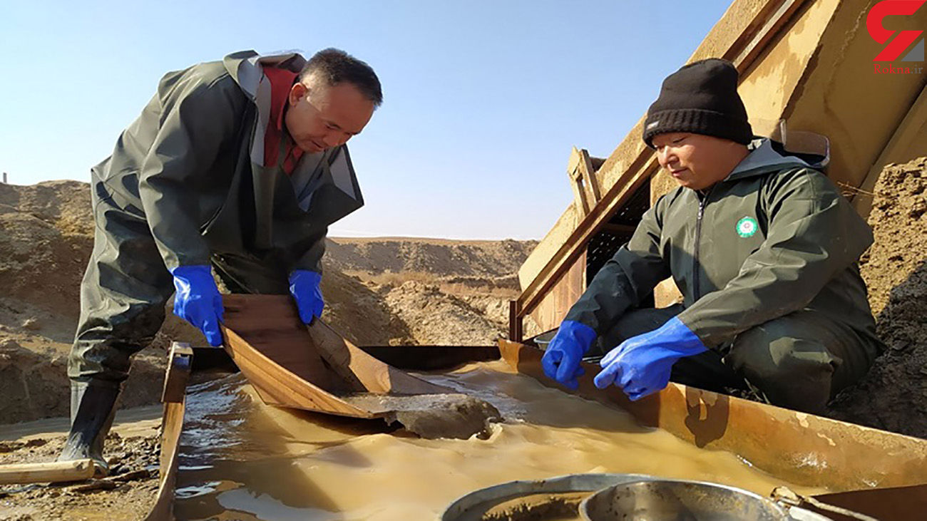 چینی ها مدت هاست در معادن طلای ایران کار می کنند