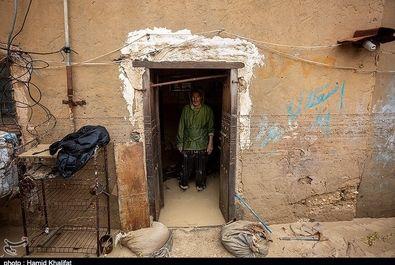 خسارات سیل در بندر کنگان - بوشهر