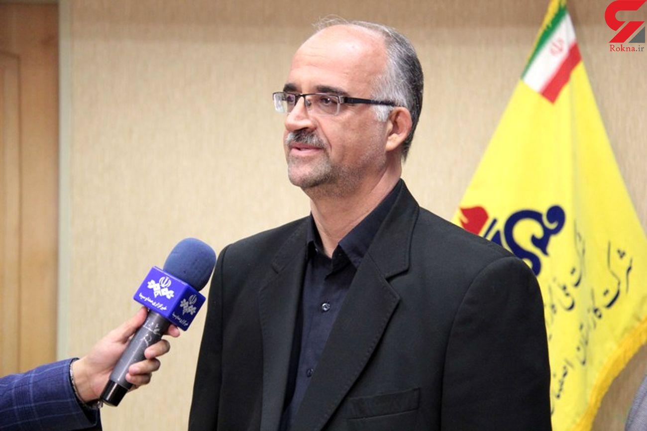 انجام تعمیرات اساسی 74 گرمکن ایستگاه تقلیل فشارگازدر استان اصفهان