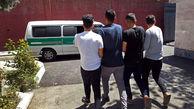 انهدام باند سارقان در کرمانشاه / آنها به ماشین پلیس حمله کردند