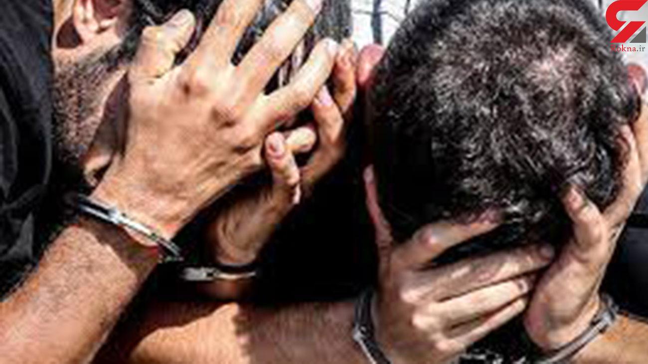 حمله 2 شرور با قمه به پلیس گرگان + جزئیات