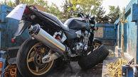 """موتور سیکلت فوق لاکچری معروف به """"هیولا"""" در جنوب تهران دیده شد"""