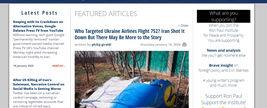 دخالت امریکا و اسرائیل در شلیک موشک به هواپیمای اوکراینی فاش شد + فیلم و عکس