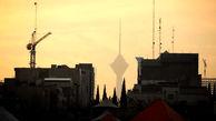 هوای تهران با شاخص ۱۰۹ ناسالم است