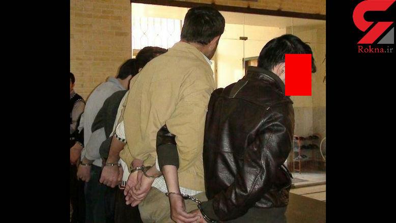 دستگیری باند دزدان خانه های بندر انزلی هنگام فرار از دست صاحبخانه +عکس