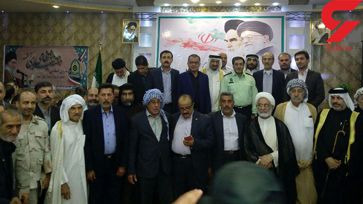 جلسه تعاملی فرمانده انتظامی شهرستان آبادان باشیوخ عرب