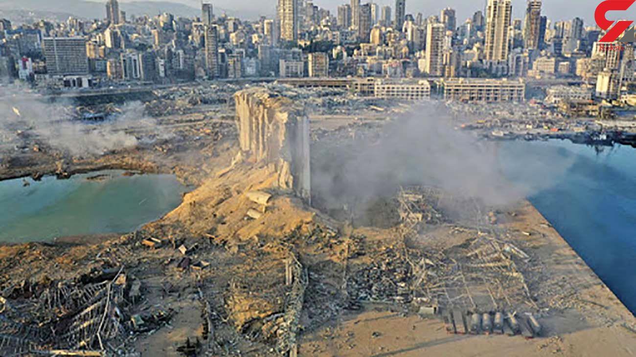 اطلاعات جدید تیم تحقیقات فرانسه از محل انفجار در بندر بیروت
