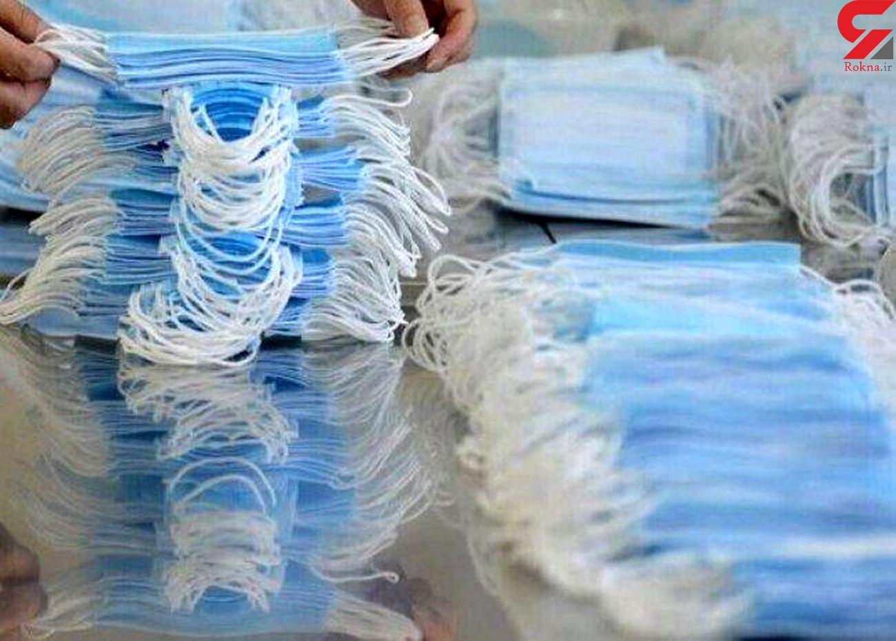 هنوز هم ماسک قاچاق می شود/ دستگیری 5 قاچاقچی در روز پرکار پلیس کرمانشاه