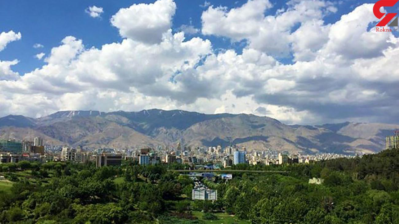 تهران امروز هوای قابل قبولی دارد
