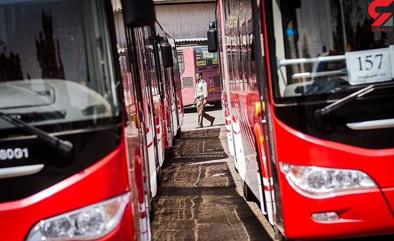 بهسازی خطوط اتوبوس های تندرو تهران با آسفالت پلیمری