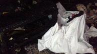 مرگ تلخ پیرمرد معلول در آتش سوزی شمال تهران +عکس