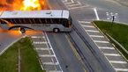 فیلم لحظه تصادف شدید تریلی تانکر با 2 خودرو + فیلم و عکس