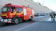 انفجار در یک مرکز غیرمجاز گاز مایع در اسلامشهر + فیلم