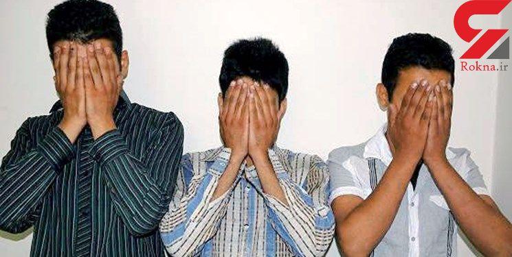 غافلگیری دزدان جوان هنگام سرقت خانه ای در شهرک غرب