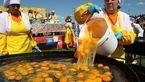بزرگترین نیمرو جهان در روسیه پخته شد!+ تصاویر