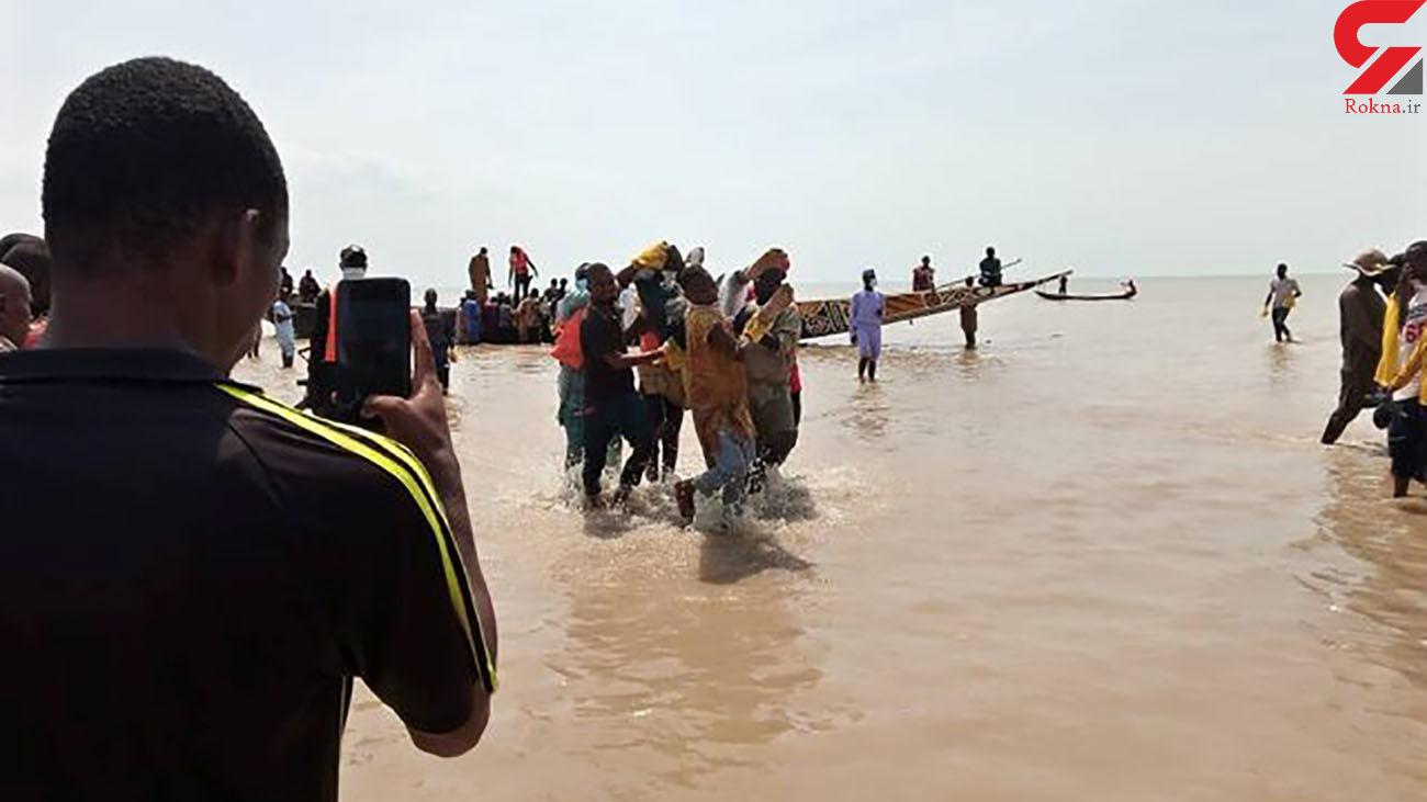 کشف 70 جسد در پی واژگونی قایق چوبی