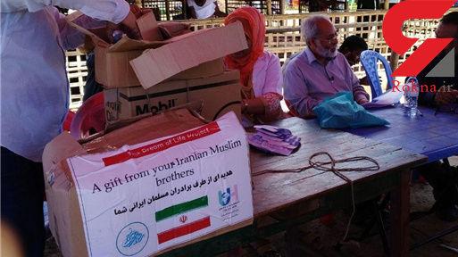 اولین کمکهای مردمی خیرین ایرانی در بین مسلمانان میانمار توزیع شد