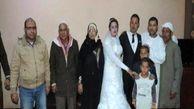 جشن عروسی در کلانتری! / برادر عروس از زندان به مراسم آمد + عکس