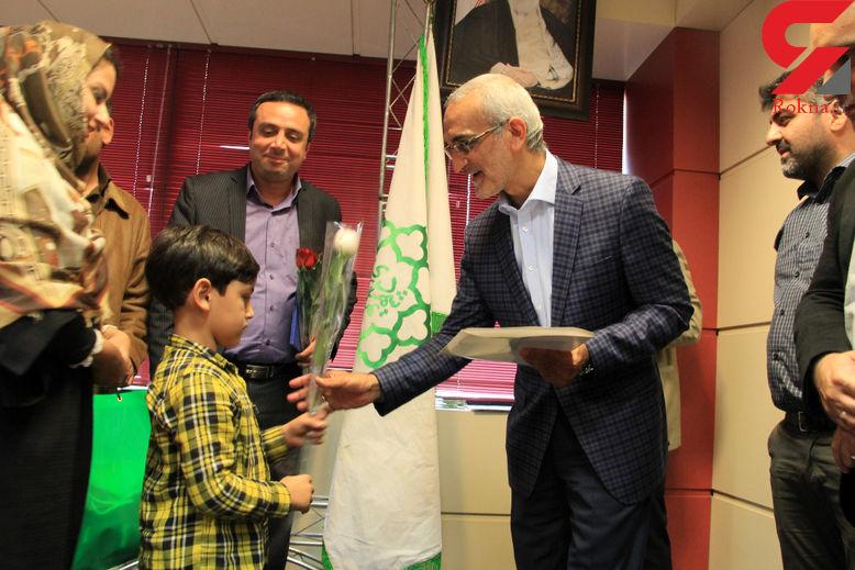 تقدیر پورسیدآقایی از کودکی که به شهردار پیشنهاد ترافیکی داده بود