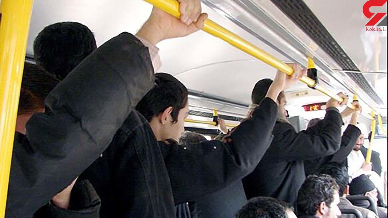 در مترو چارهای برای شلوغی نداریم