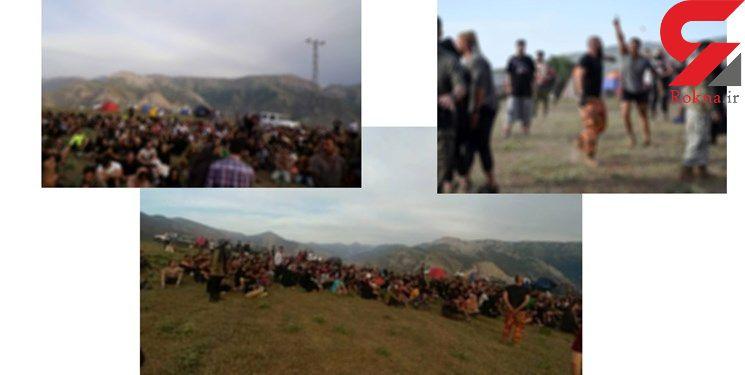 راز چادرهای مختلط دخترها و پسرها در آمل / بازداشت 10 زن و مرد که لیدر تورهای پلید  بودند + عکس
