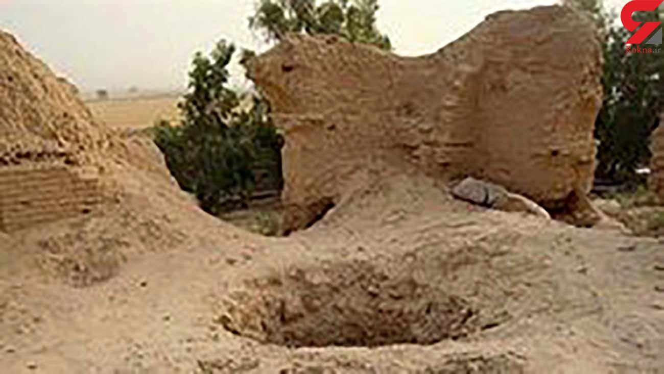 انسداد 9 حلقه چاه غیر مجاز در خدابنده