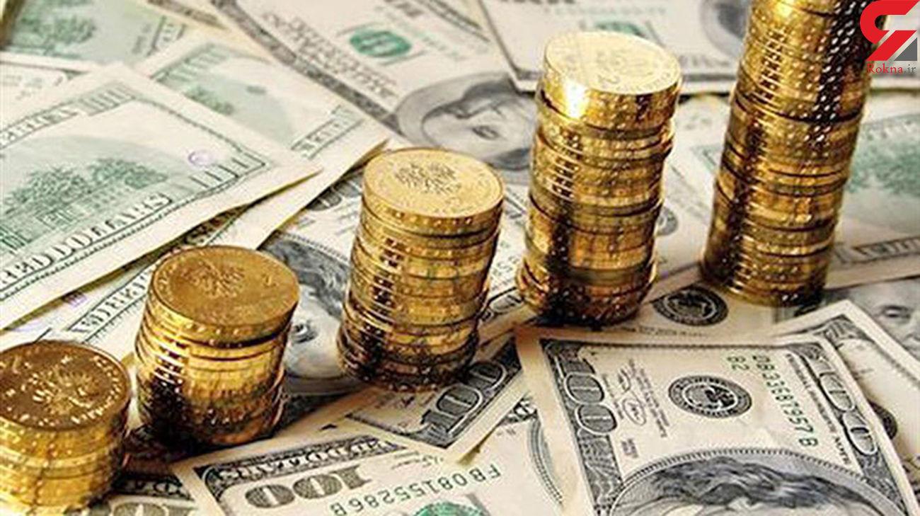 قیمت طلای 18 عیار ، سکه و دلار در بازار امروز شنبه 4 مرداد