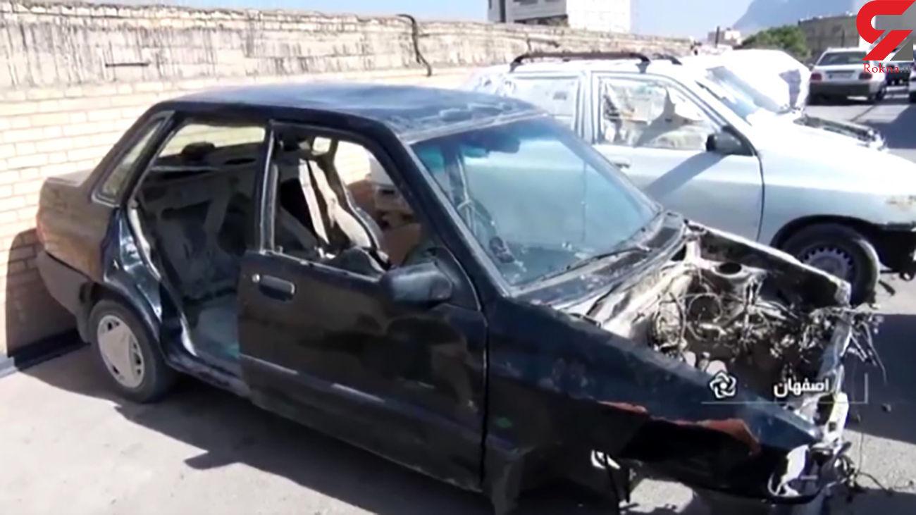 حراج خودروهای 100 میلیونی به 5 میلیون تومان توسط باند پلید + فیلم باورنکردنی