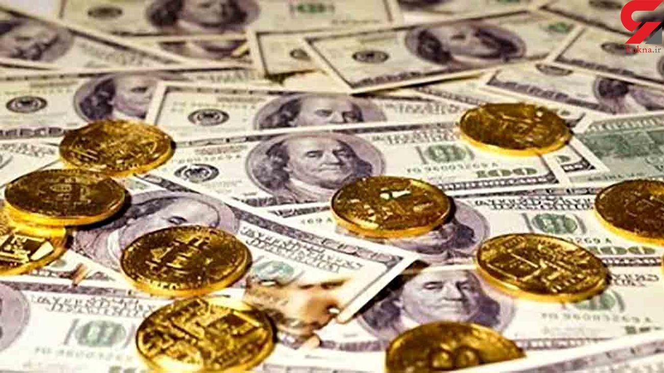 امروز ارز و طلا متفاوت پیش رفتند