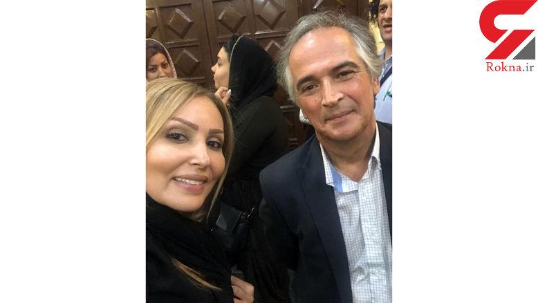 پرستو صالحی در کنار بازیگر پر حاشیه قبل از انقلاب +عکس