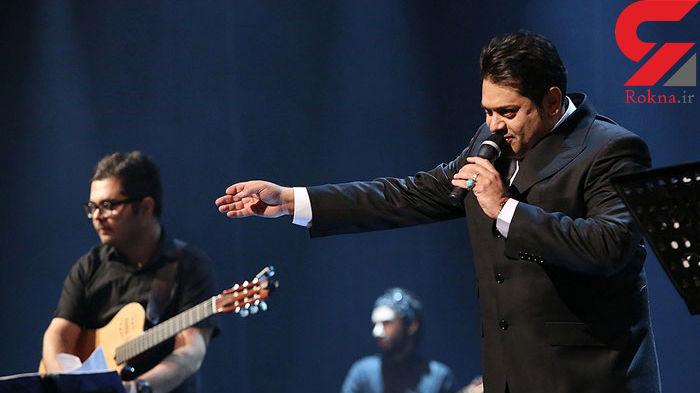 خواننده معروف پاپ و خوش صدای ایران در بیمارستان بستری شد