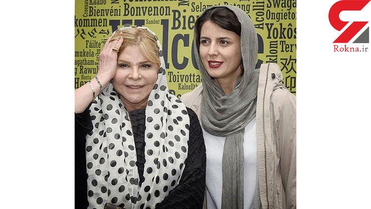 لیلا حاتمی در کنار مادرش زری خوشکام+عکس