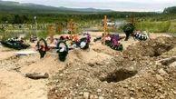 خورده شدن اجساد یک قبرستان توسط خرس / در روسیه رخ داد +عکس عجیب