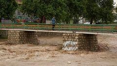 طغیان رودخانههای چهارمحال و بختیاری; ۱۷ پل فرعی و اصلی به زیر آب رفت