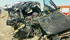 مرگ دلخراش اعضای یک خانواده در تصادف جاده مرزی + عکس