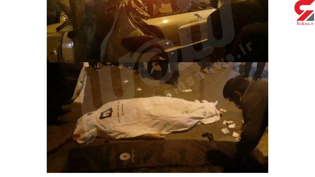 مرگ دلخراش جوان 30 ساله در تبریز / رهگذران چه دیدند + عکس تلخ