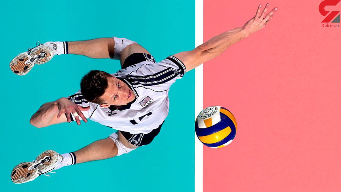 آموزش قرارگیری دستها و بدن در والیبال + فیلم