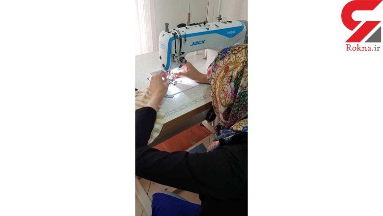 راه اندازی کارگاه خیاطی زنان موسسه خیریه آینده برتر