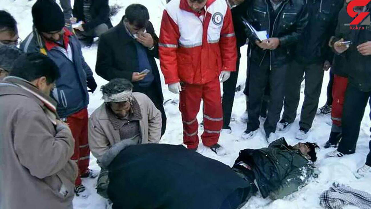 عکس جسد رضا ارغوانی / قاتلان با دستان بسته از کوه پایین انداختند
