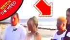 خشم عروس از حرکات مادر داماد در مراسم عروسی! + فیلم