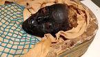 عکس جنازه زن موردعلاقه فرعون پس از 2600 سال / ضربه تبر به کمر!