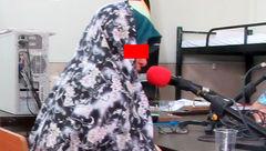 فیلم گفتگو با زن بی رحمی که خبرنگار را تهدید به مرگ کرد / این زن قاتل دختر خردسالش است + تصاویر در آگاهی تهران