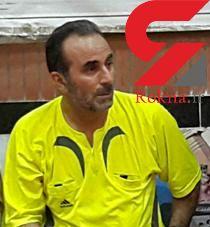 مرگ داور گلستانی فوتسال هنگام قضاوت بازی+عکس