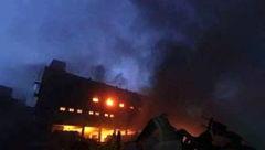 آتش سوزی در بنگلادش+عکس