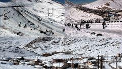 پیست مرگبار غیراستاندارد اسکی در یزد!