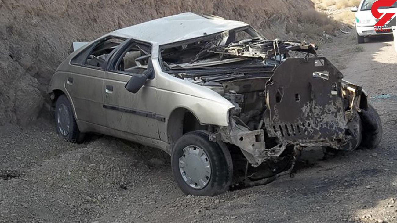 2 کشته در تصادف وحشتناک محور قلاجه