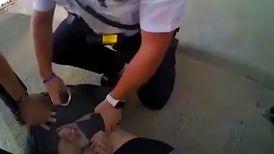 عملیات دلهره آور نجات مردی که قصد خودکشی داشت + فیلم