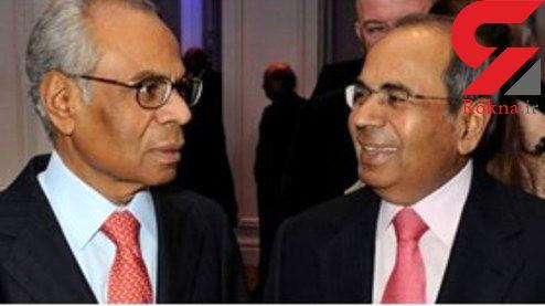 دو برادر هندو ثروتمندترین مردان بریتانیایی +عکس