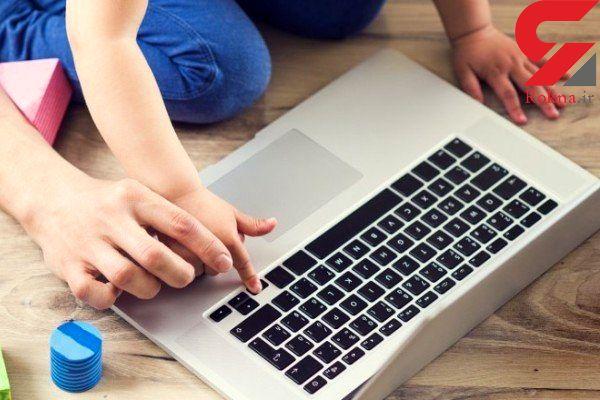 فضای مجازی کودکان توسعه می یابد